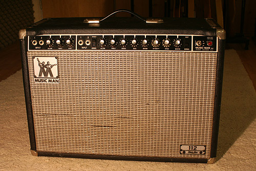 Music Man Guitar Amps | Mark Knopfler ...