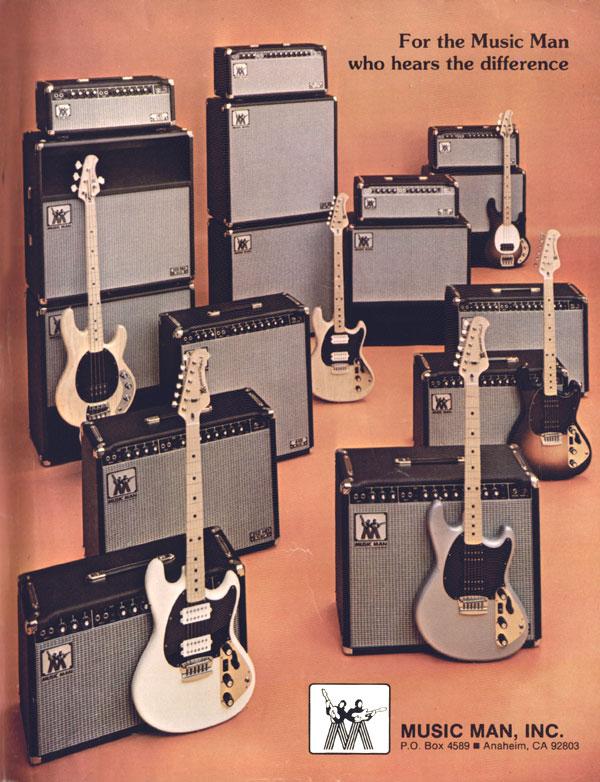 Music Man Guitar Amps | Mark Knopfler Guitar Site on