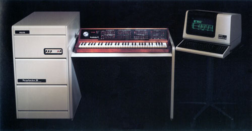 Synclavier II from the mid eighties