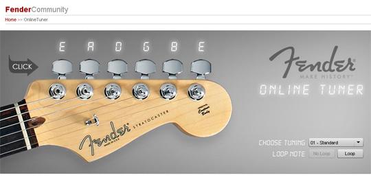 nice fender online guitar tuner mark knopfler guitar my knowledge of guitar. Black Bedroom Furniture Sets. Home Design Ideas