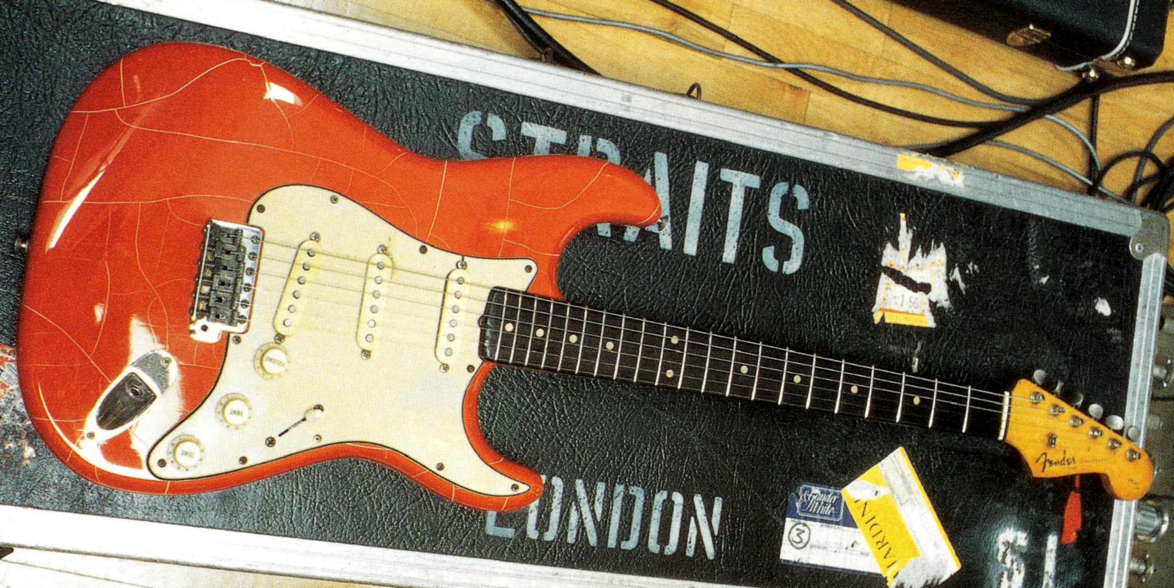 Fender Stratocaster 1961 Mark Knopfler Guitar Site 1977 Wiring Diagram 5 Way Switch Pictures