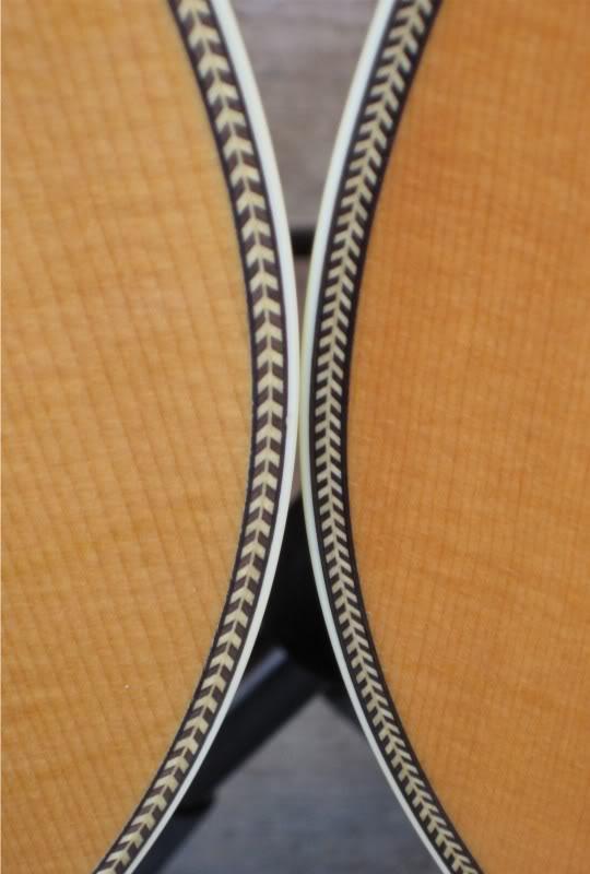 The herringbone binding