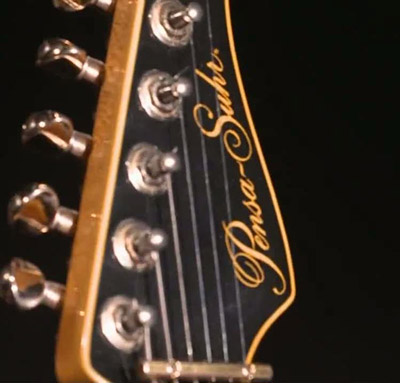 The head of Mark's Pensa Suhr MK1