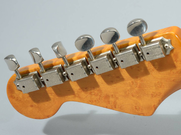 Sorry, that Kluson guitar tuners on a strip